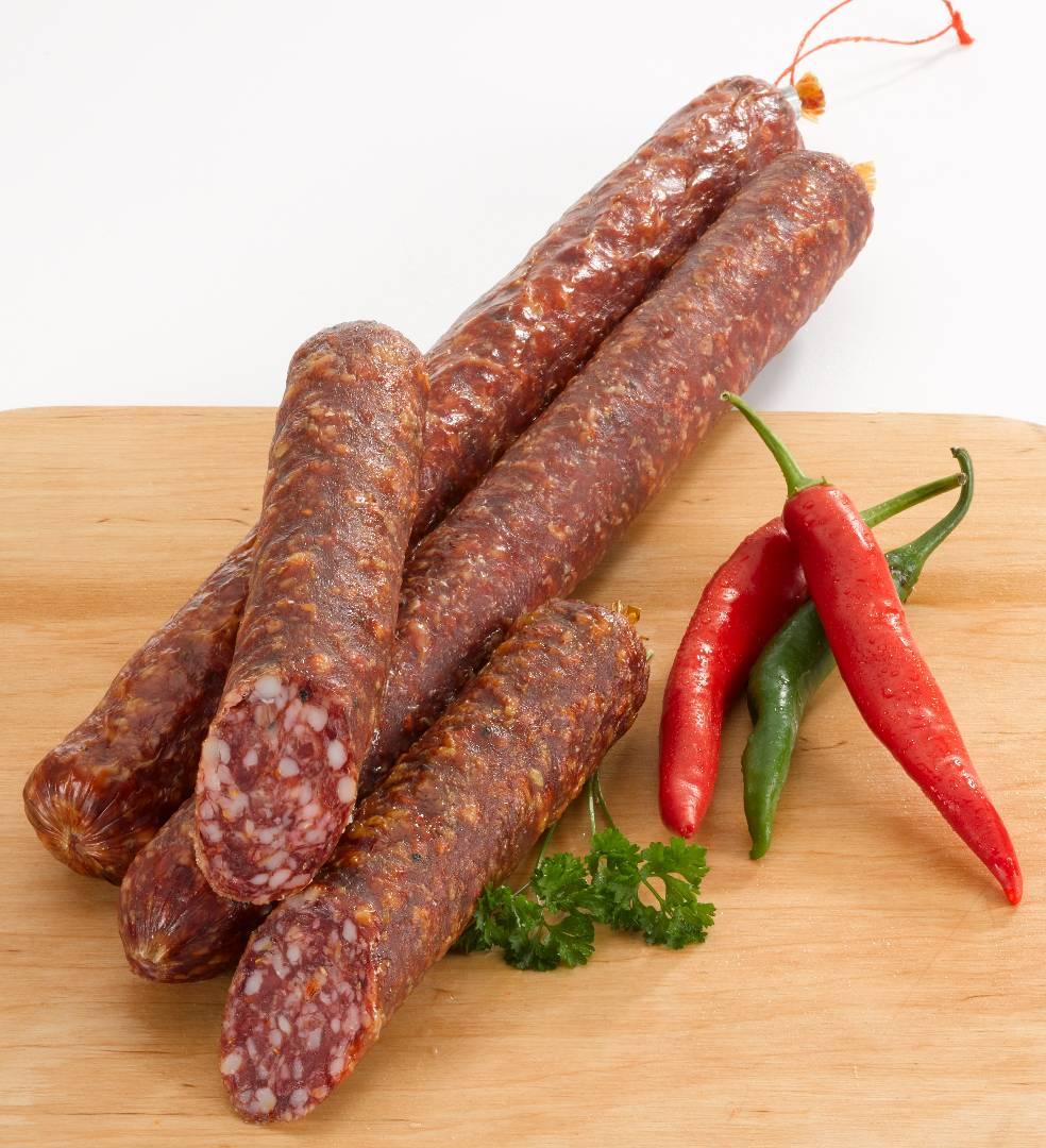 scharfe salami